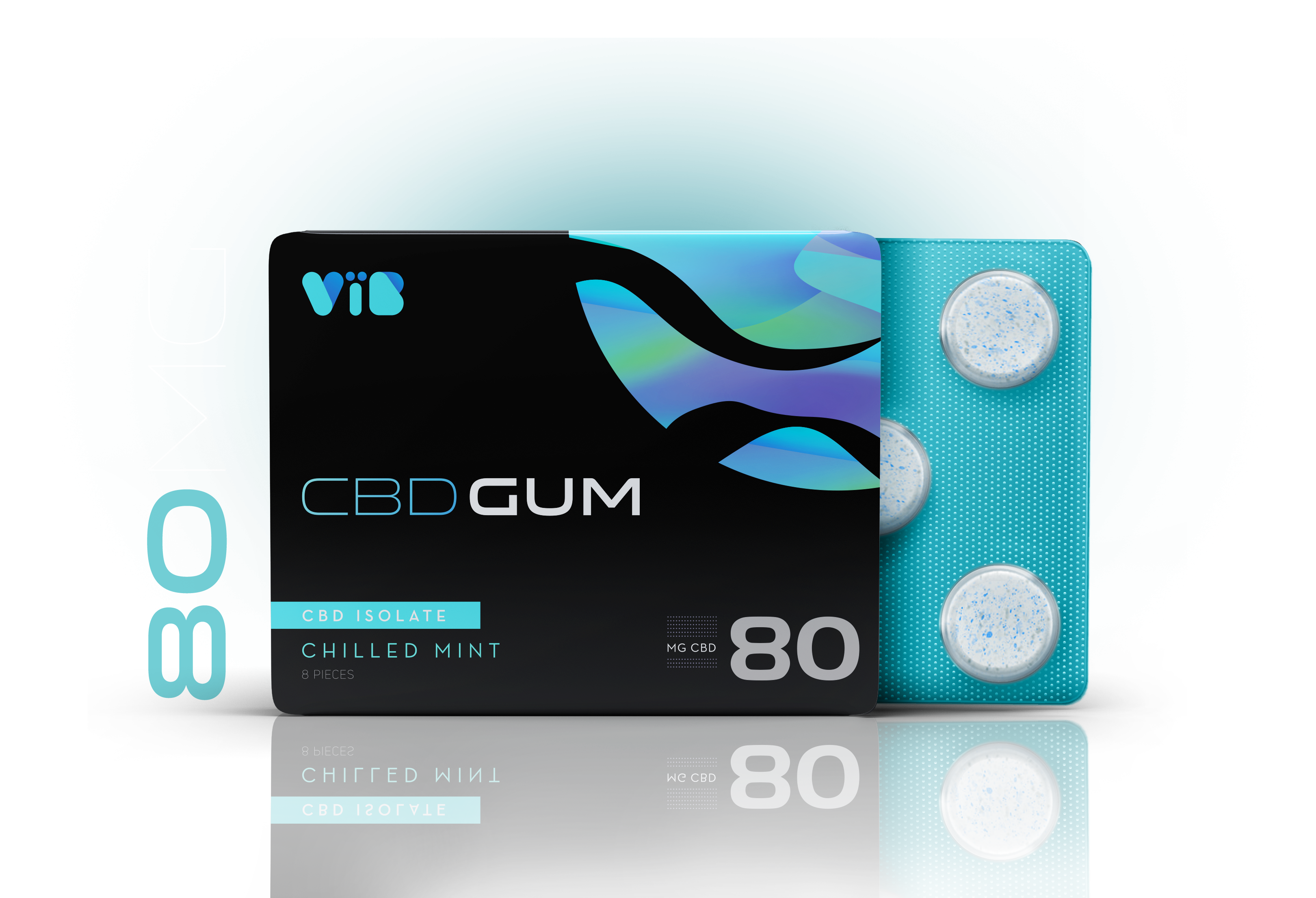 ViB CBD Gum Isolate 10mg