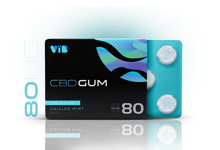 VIB CBD Gum Isolate
