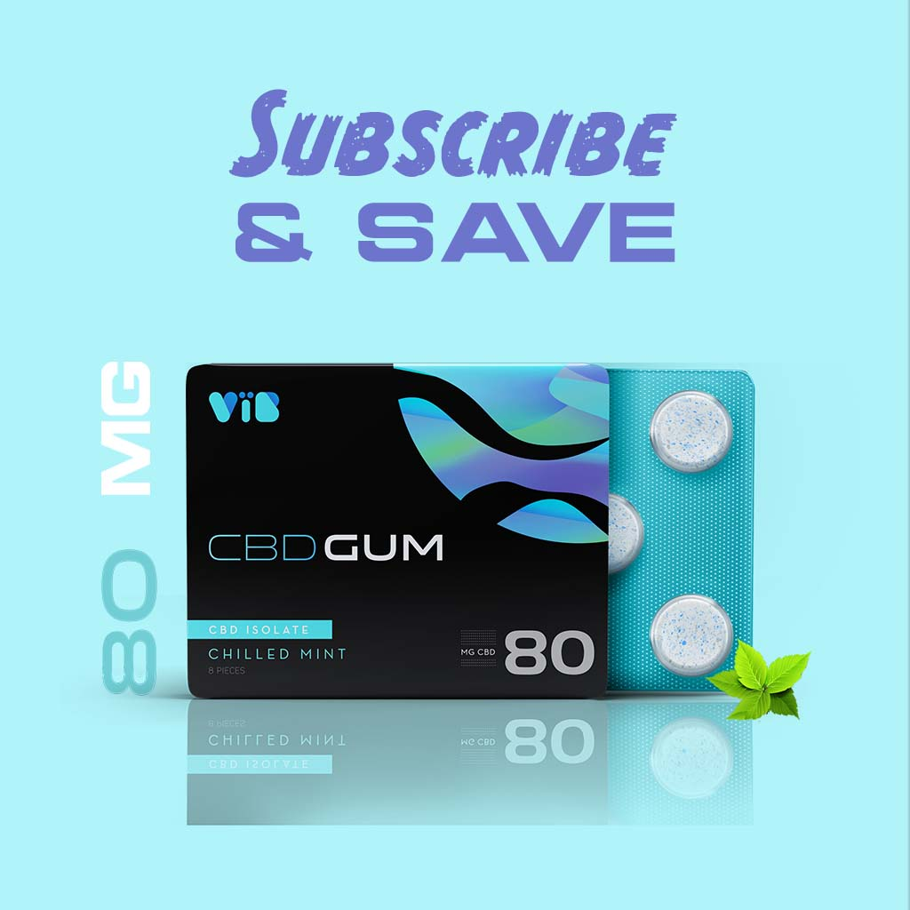 CBD Gum Subscription 10MG Isolate